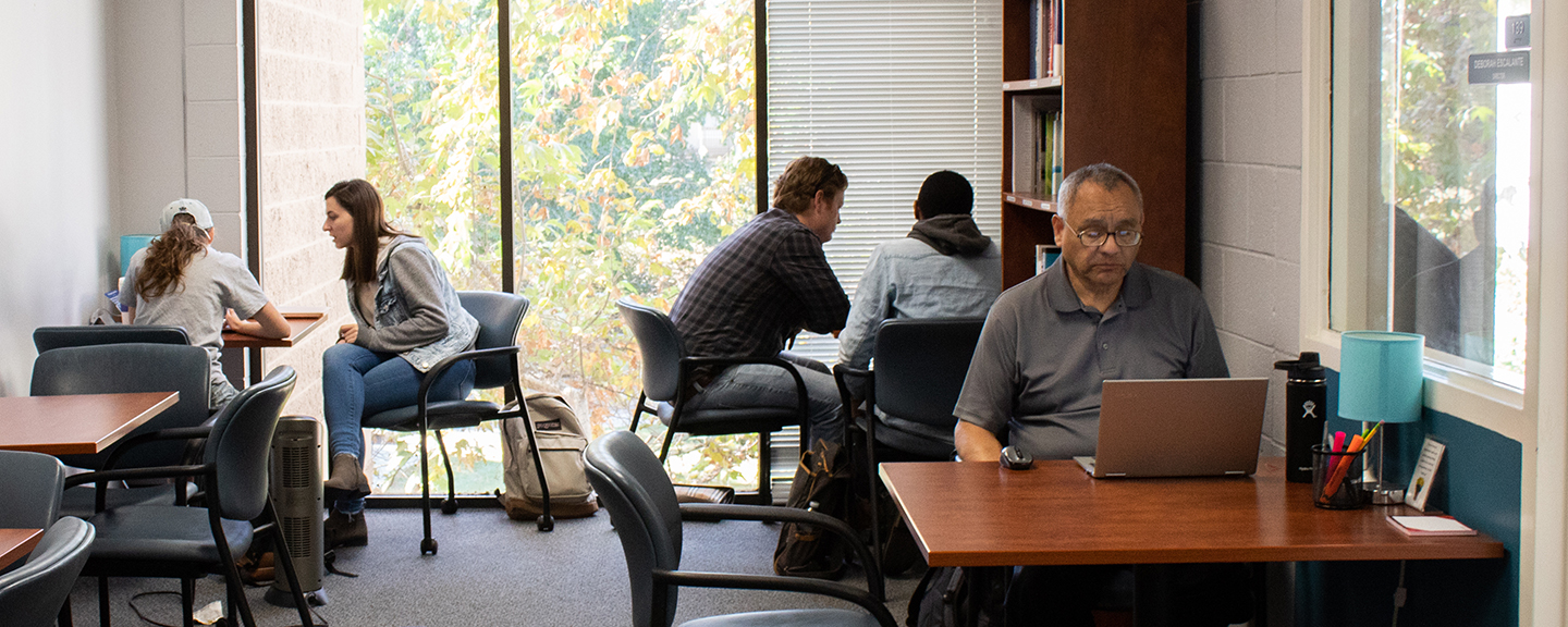 Get coaching on any writing project in the Writing Center.