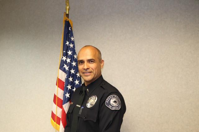 Public Safety Officer Medal of Valor recipient Lieutenant Xavier Torres