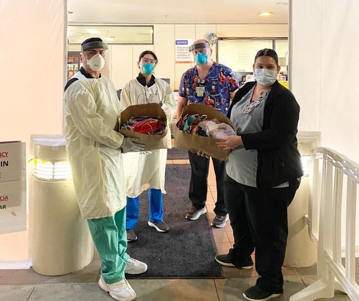 Loma Linda University Children's Hospital received 240 masks on Sunday, March 29.