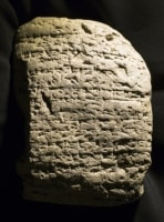 Cuneiform Tablet (obverse view)