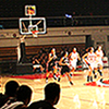 <strong>Inside the Event Center</strong><br>Choose any of the 3,500 seats in the Felix Event Center and you're sure to be close to the action of an APU basketball game.