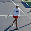 <strong>Munson and Bavougian Tennis Complex</strong><br>Opened in 2009, the Munson and Bavougian Tennis Complex is located adjacent to the Cougar Soccer Complex on West Campus. The 8-court complex offers a winning facility for the nationally recognized APU men's and women's tennis programs.