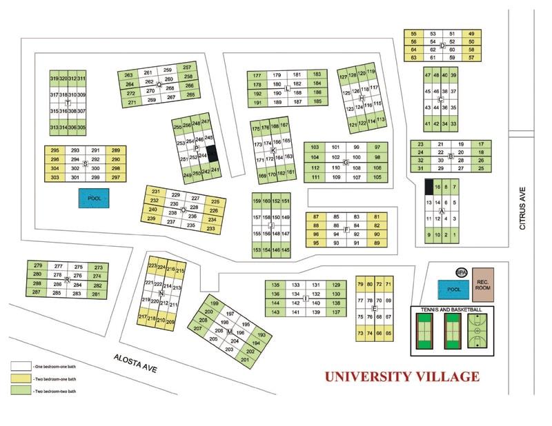 University Village Map University Village   Office of Residence Life   Azusa Pacific