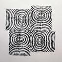 Christopher Rupp<br><em>Pinwheels</em>, 2011<br>Graphite on paper<br>9 x 9 in.