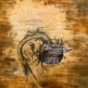 Marissa Quinn<br><em>Epithumea</em>, 2010<br>Oil and mixed media on wood panel<br>4 x 4 ft.