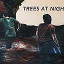 Steven Felix-Jager<br><em>Untitled (Trees at Night)</em>, 2015<br>Oil on canvas